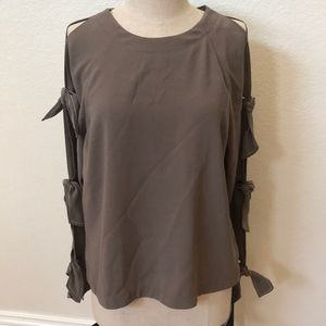 BCBG Maxazria top blouse small